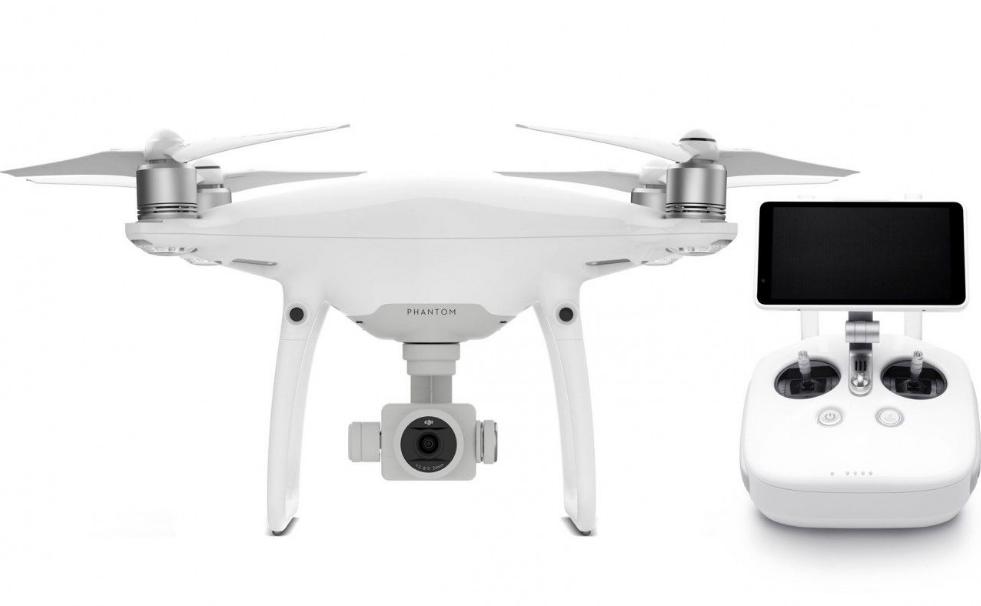 DJI Phantom 4 pro drone квадрокоптер с камерой