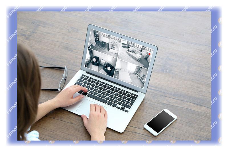 ip видеонаблюдение на компьютере
