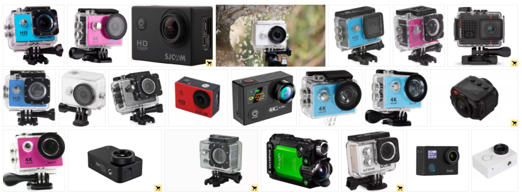 экшн камеры