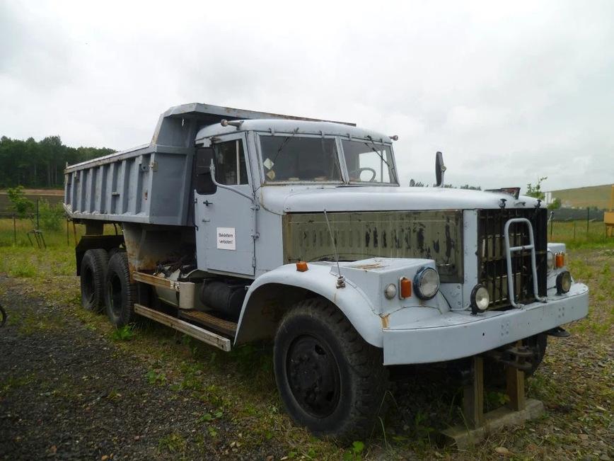 самосвал КрАЗ-256