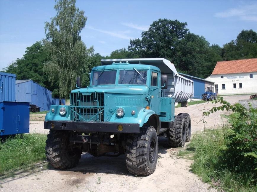тягач КрАЗ-255В