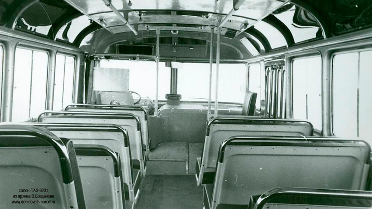 Салон Автобуса ПАЗ-3201