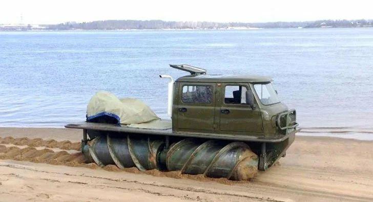 Шнекоход ЗВМ-2901