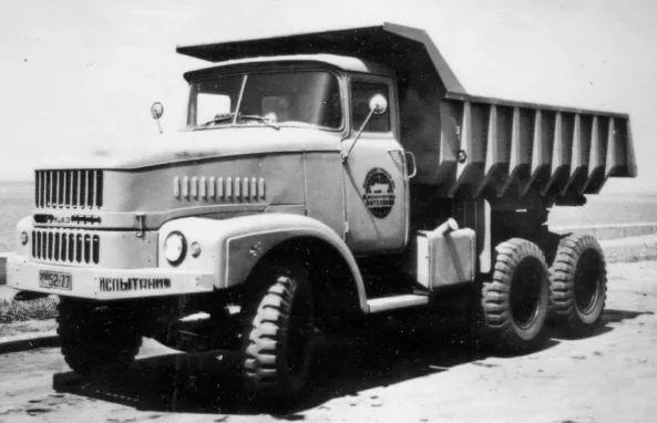 КРАЗ-250 с кабиной ЗИЛ
